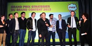 2e édition du Grand Prix Stratégies du Brand content 2013
