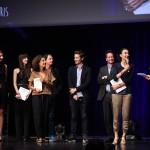 Les étudiants de l'ECS remettent le Prix à Lacoste et BETC