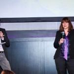 Christophe Beaugrand et Sandrine Matichard, éditrice de Stratégies