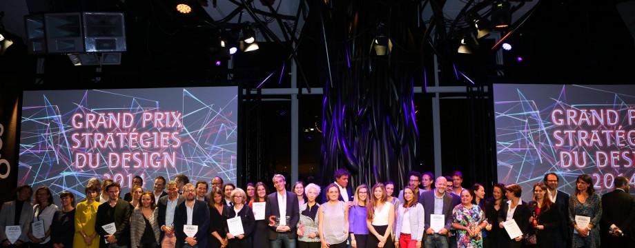 Les gagnants du Grand Prix Stratégies du Design 2014