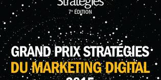 C'est parti pour le Grand Prix Stratégies du Marketing digital 2015